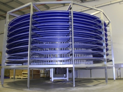 Front of Spiral Conveyor