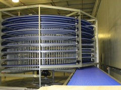 In-feed to Spiral Conveyor