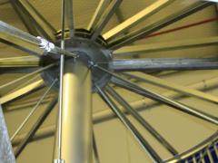 Framing for the Spiral Conveyor
